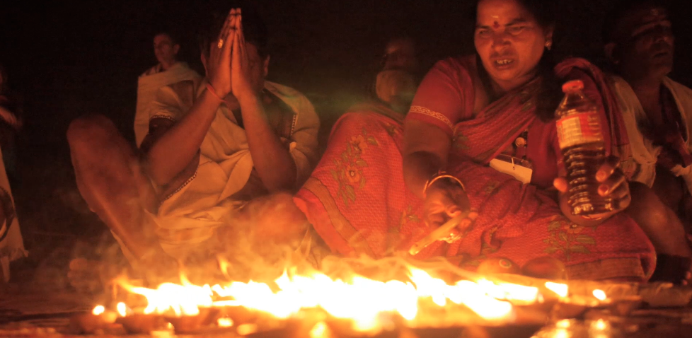 Everyday something happens in Varanasi